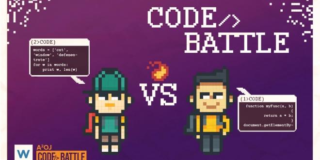 WUZZUF تطلق مسابقة Code Battle للمبرمجين في مصر
