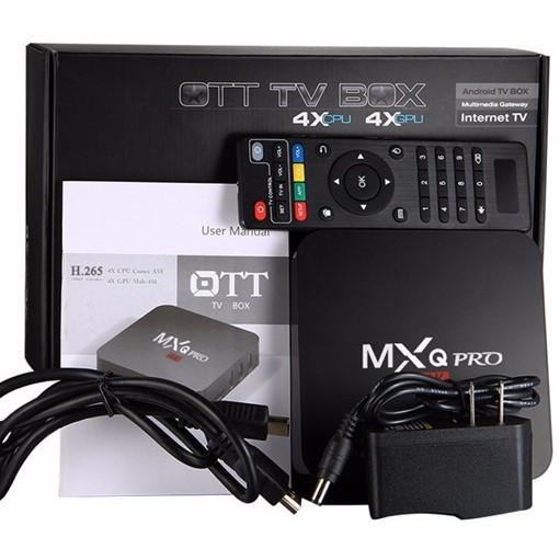 Mxq Pro أندرويد تي في بوكس يدعم تشغيل الفيديو بدقة 4k صدى التقنية