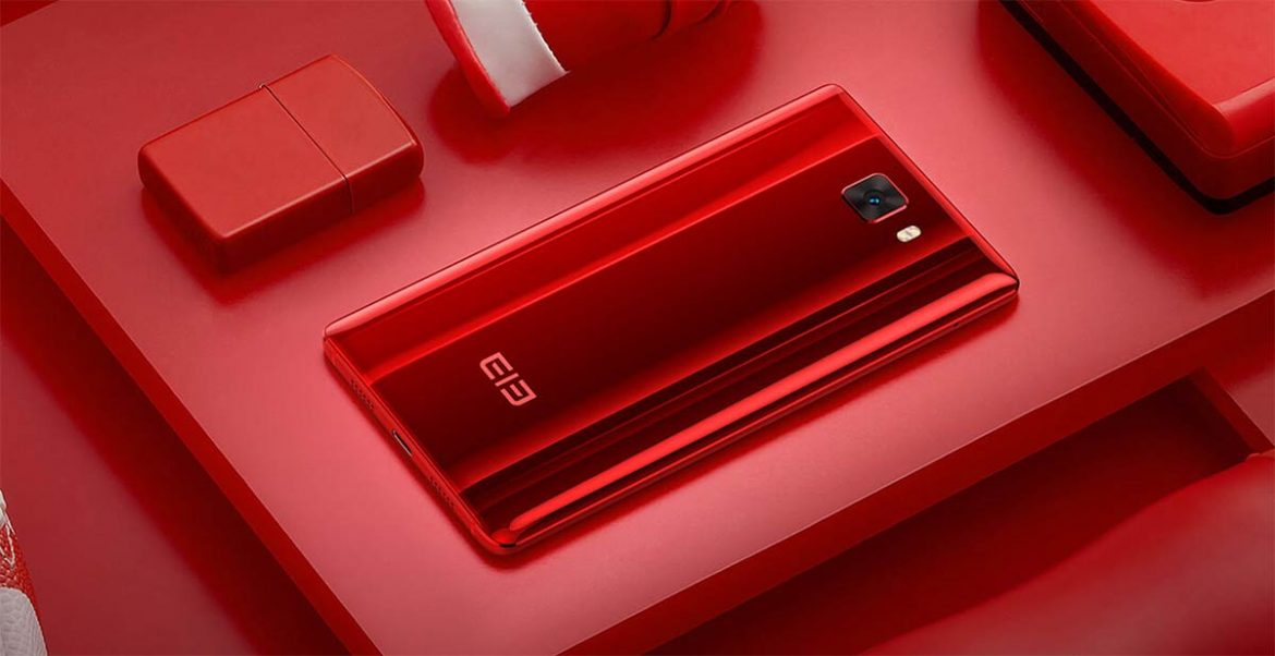 Elephone S8 red