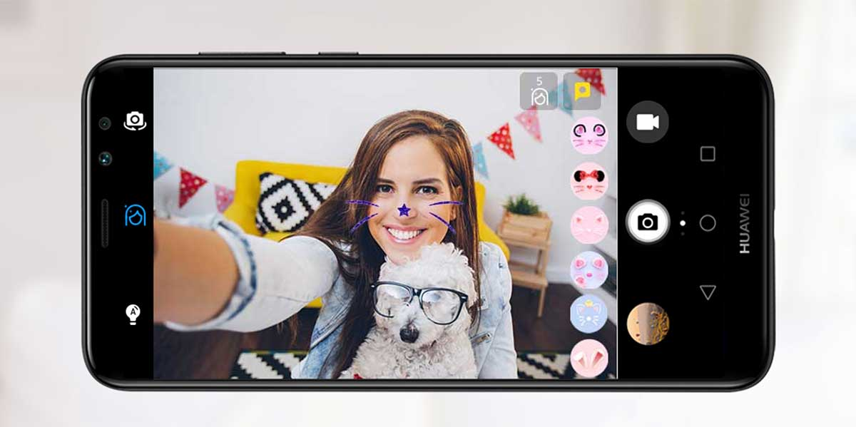 يحمل Huawei Mate 10 Lite هواوي ميت 10 لايت 4 كاميرات