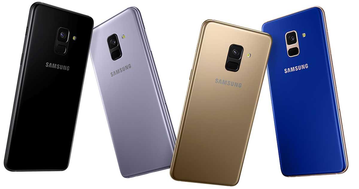 ألوان Galaxy A8 وGalaxy A8 Plus