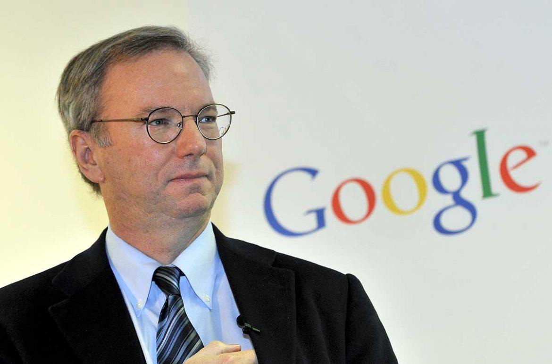 """اريك شميدت يتنحى عن رئاسة الشركة الأم لـ """"جوجل"""""""