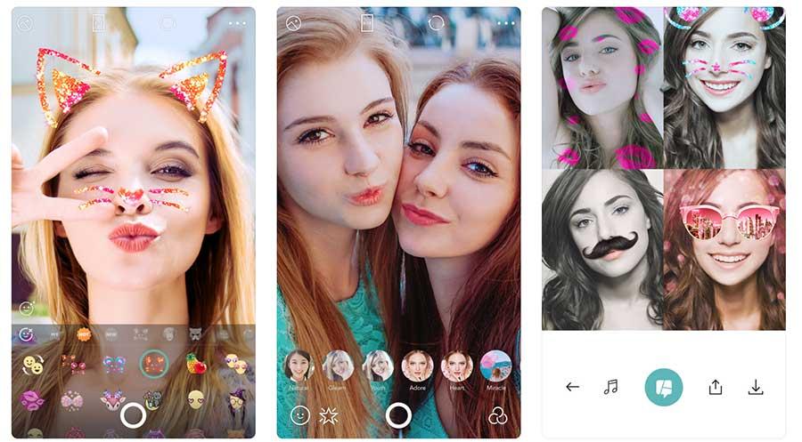 B612 - Trendy Selfie Camera أفضل تطبيقات السيلفي