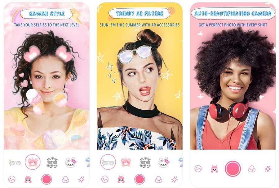 أفضل تطبيقات السيلفي beautyplus