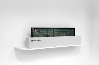 إل جي تكشف عن تلفزيون يحمل شاشة OLED قابلة للطي