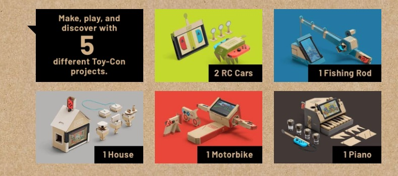 Nintendo Labo varity kit