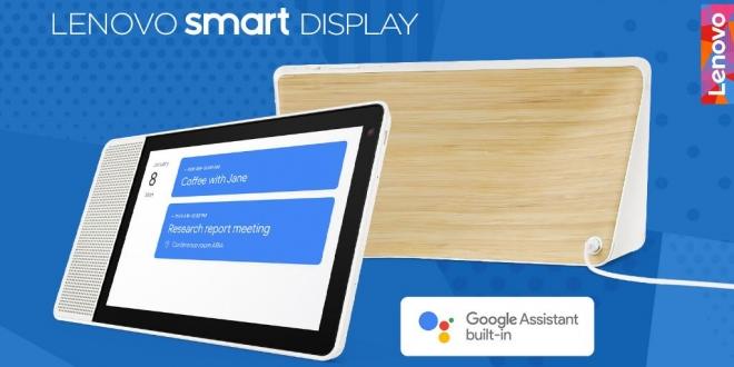 Lenovo Smart Display: شاشة ذكية مدمج بها مساعد جوجل الصوتي