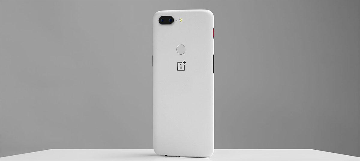 إصدار محدود باللون الأبيض من OnePlus 5T