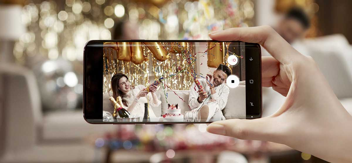 ما الجديد في كاميرا Galaxy S9 جالاكسي اس 9