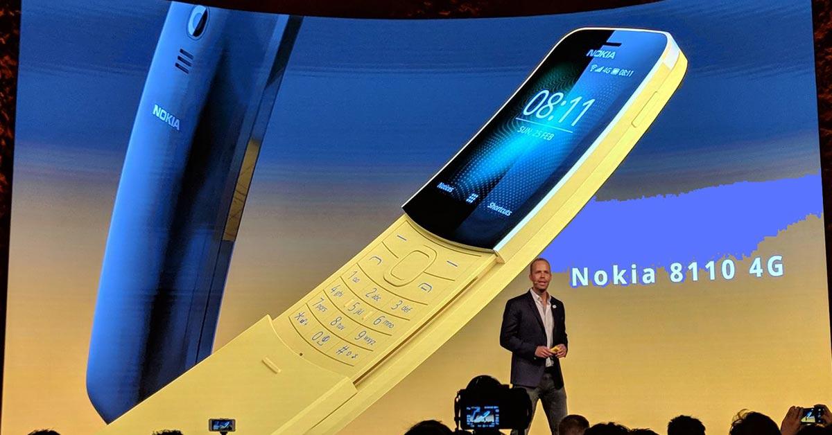 Nokia 8110: مواصفات ومميزات وسعر هاتف الموزة الجديد - صدى التقنية