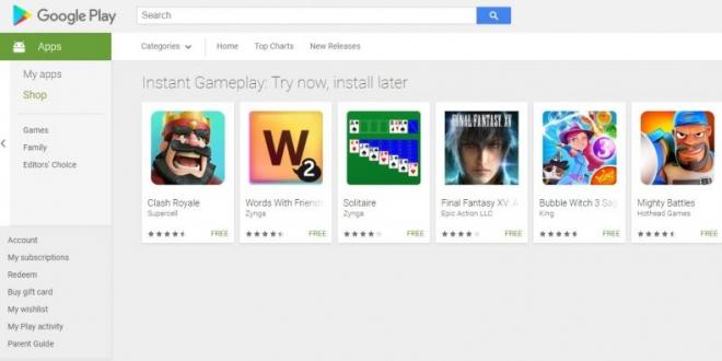 Google Play Instant: جوجل تتيح لمستخدمي أندرويد تجربة الألعاب قبل تثبيتها