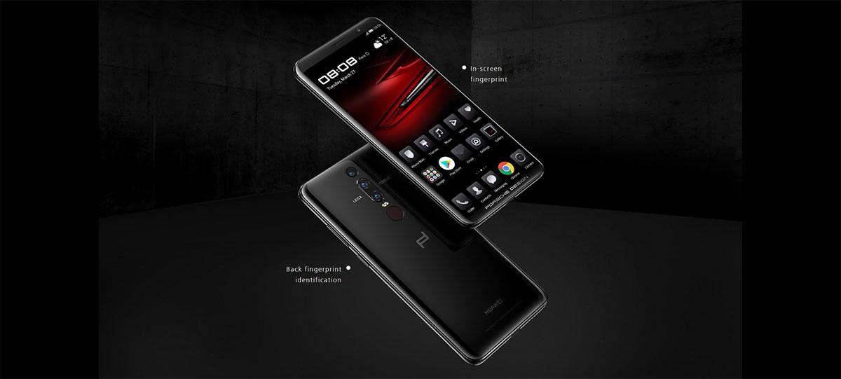 يحمل Huawei Mate RS مستشعر للبصمة مدمج في الشاشة