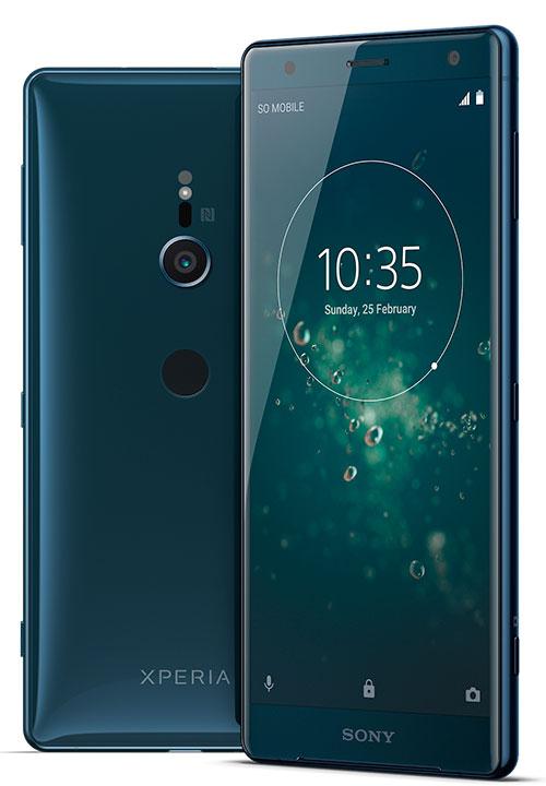 تخلت سونيفي هاتفها الجديد Xperia XZ2 عن التصميم التقليدي