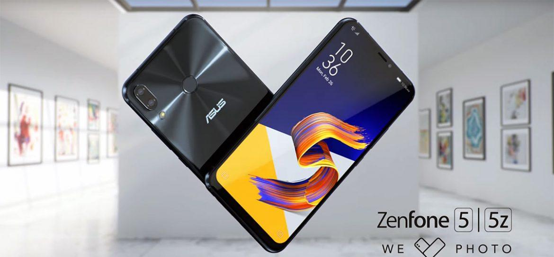 Zenfone 5 وZenfone 5Z: مواصفات وسعر هاتفي أسوس بنفس تصميم ايفون X