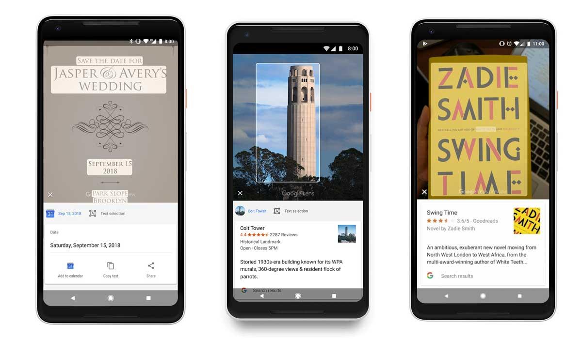 جوجل توفر ميزة Google Lens لأجهزة iOS