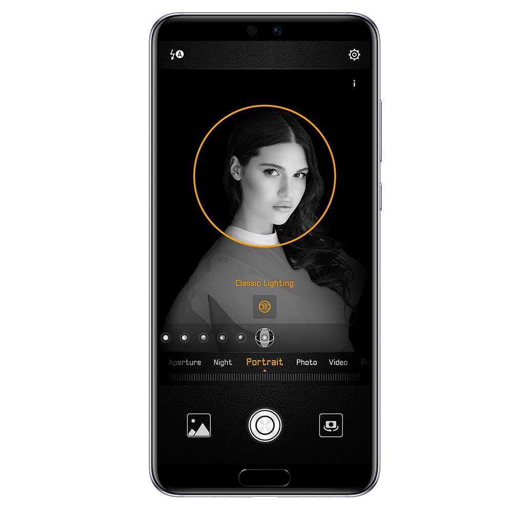 زودت هواوي هاتفها الذكي الجديد Huawei P20 Pro هواوي بي 20 برو بكاميرا سيلفي أمامية بدقة 24 ميجابكسل