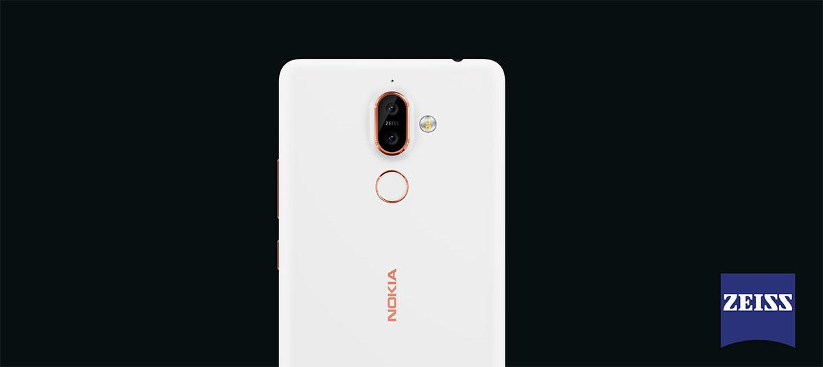 الكاميرا في Nokia 7 Plus نوكيا 7 بلس