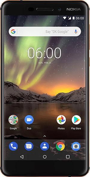 Nokia 6 2018 نوكيا 6 الجديد: المواصفات والمميزات والسعر