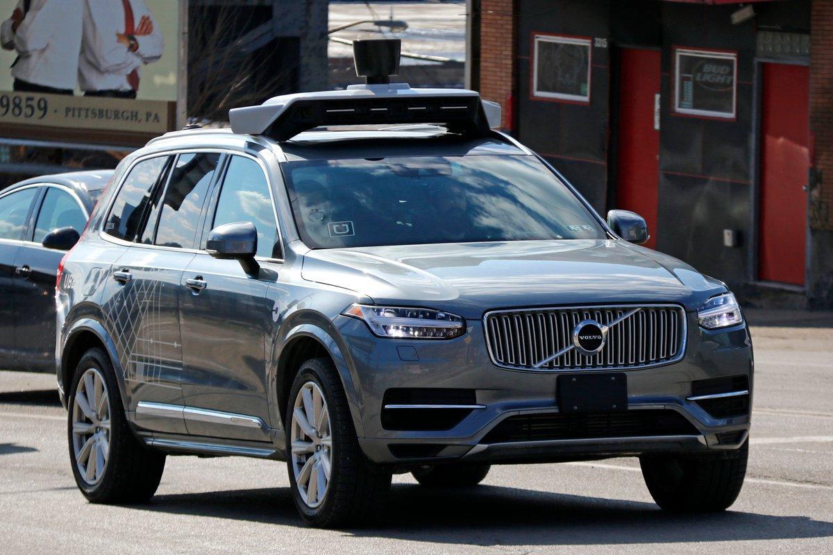 سيارة ذاتية القيادة تابعة لشركة أوبر تقتل امرأة بولاية أريزونا