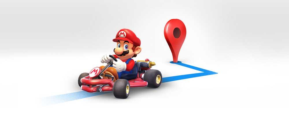 سوبر ماريو يصحبك في تنقلاتك عبر خرائط جوجل هذا الأسبوع - صدى التقنية