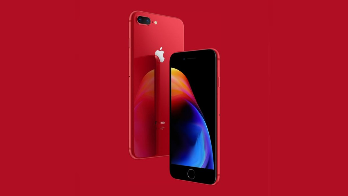 iPhone 8 RED وiPhone 8 Plus RED