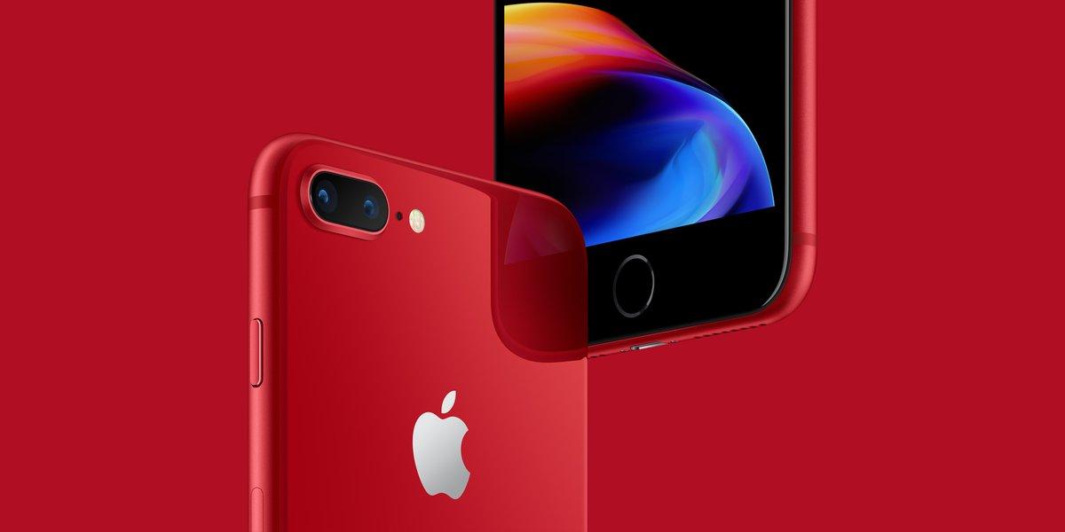 Iphone 8 Red تعرف على سعر ايفون 8 و8 بلس باللون الأحمر صدى التقنية