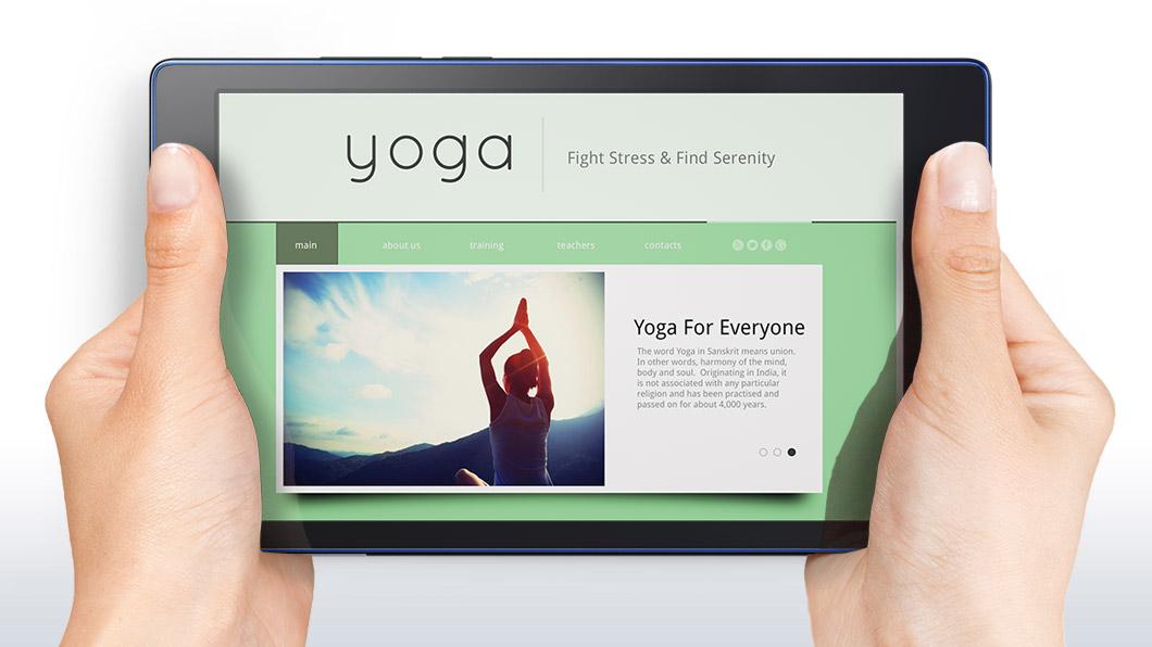 وضع القراءة في Lenovo Tab3 P8 Plus