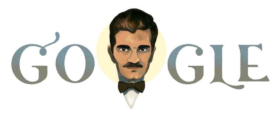 جوجل تحتفل بذكرى ميلاد الممثل المصري عمر الشريف