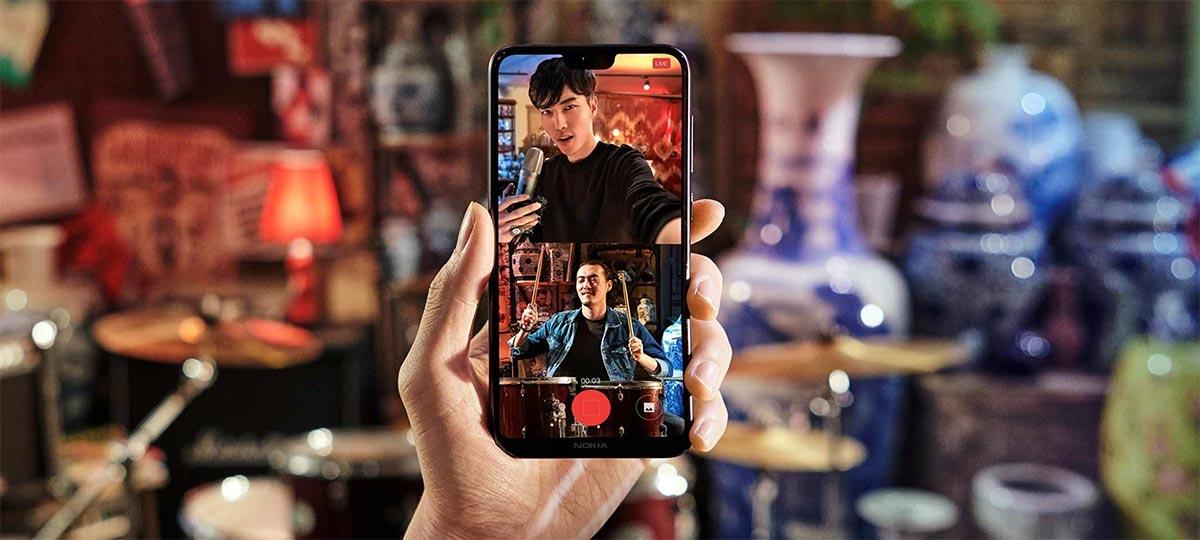 زودت HMD هاتفها الذكي الجديد Nokia X6 نوكيا اكس 6 بكاميرتين خلفيتين مع وجود فلاش LED