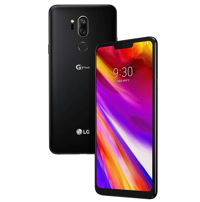 زودت ال جي هاتفها الجديد LG G7 ThinQ بكاميرتين خلفيتين بدقة 16 ميجابكسل