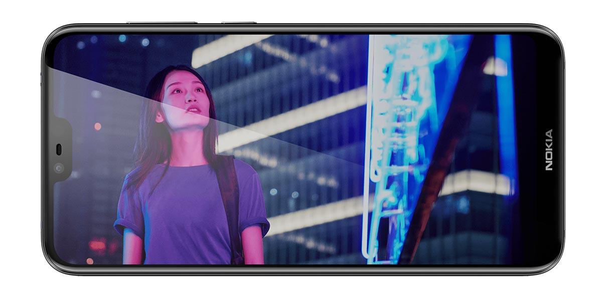 شاشة Nokia X6 نوكيا اكس 6