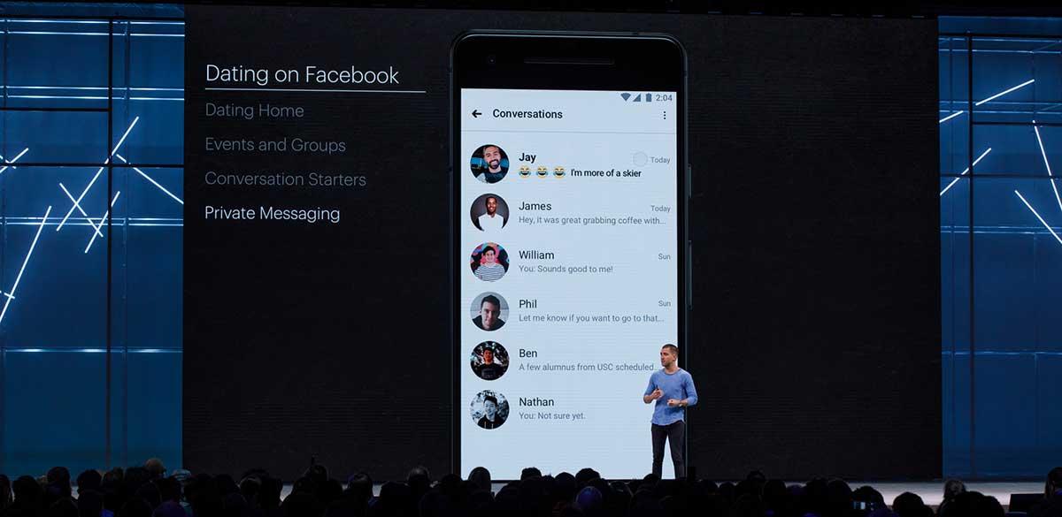 أعلنت فيس بوك خلال F8 2018 عن ميزة جديدة للتعارف والمواعدة منافسة لتطبيق Tinder