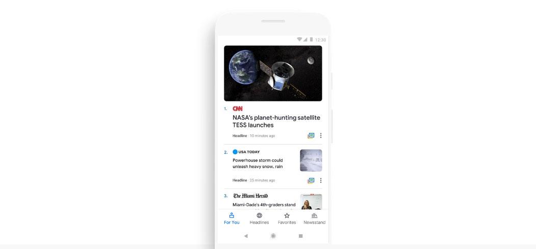 Google News: جوجل تطلق تصميما جديدا لخدمتها للأخبار