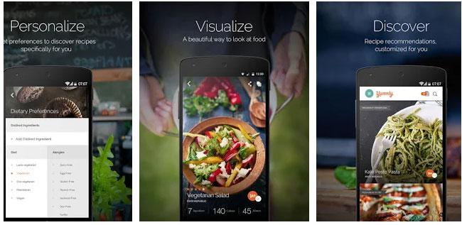 yummly - تطبيقات رمضانية