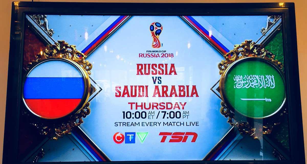 جوجل تحتفل بانطلاق بطولة كأس العالم 2018