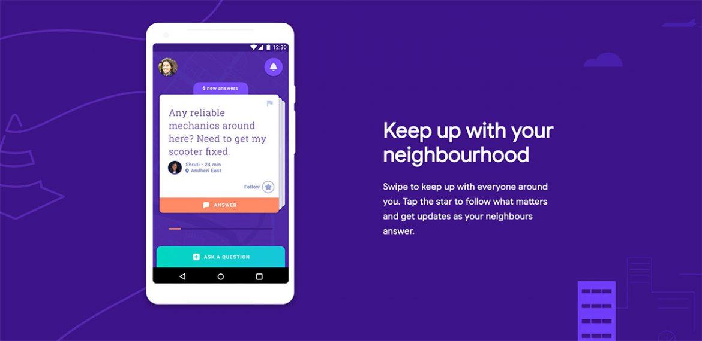 Neighbourly: تطبيق جديد من جوجل للتواصل مع الجيران وطرح الاستفسارات