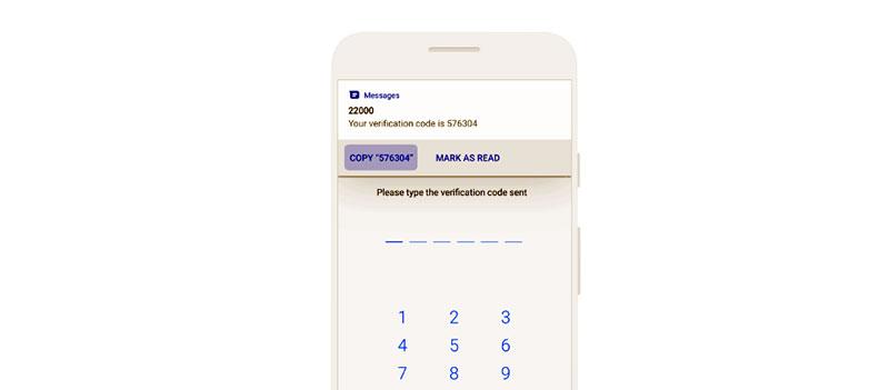 نسخ كلمات المرور ورموز التحقق بسهولة في رسائل أندرويد Android Messages