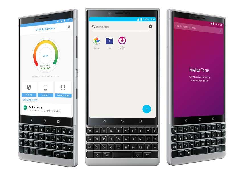 مواصفات BlackBerry Key2
