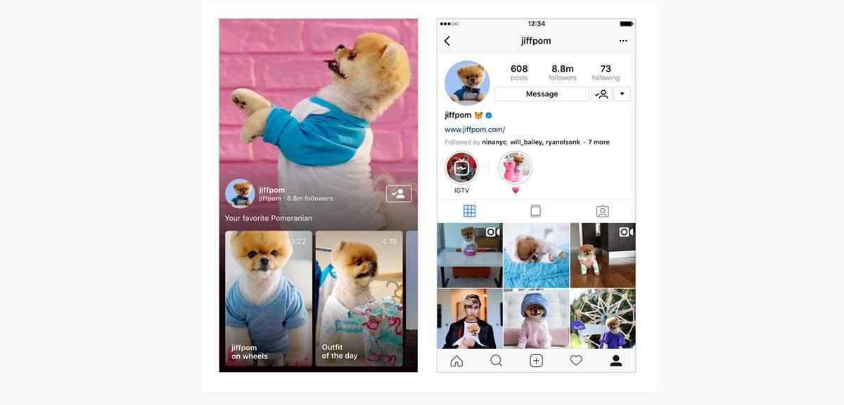 أعلنت شركة Instagram اليوم عن تطبيق جديد باسم IGTV يتيح للمستخدمين نشر ومشاهدة مقاطع فيديو طويلة تصل مدتها إلى 60 دقيقة