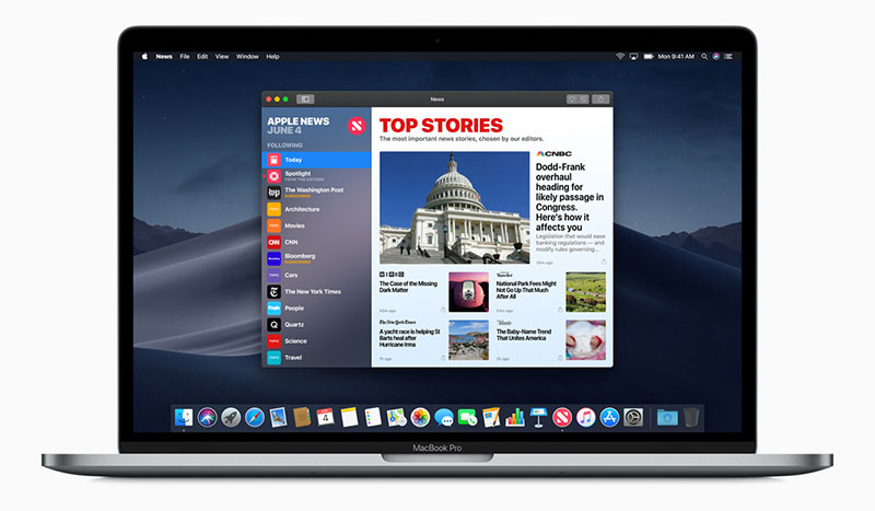 macOS Mojave يجلب تطبيقات iOS الشهيرة لأجهزة ماك