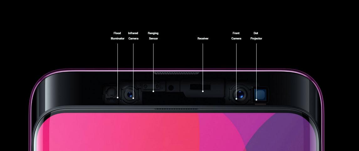 يأتي Oppo Find X مزودا بكاميرا سيلفي أمامية دقتها 25 ميجابكسل
