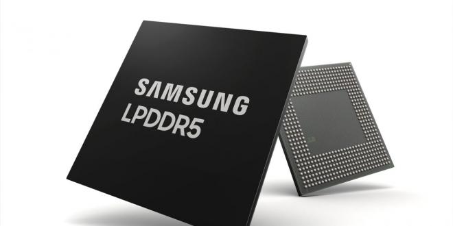 سامسونج للإلكترونيات تعلن عن الذاكرة التحزينية LPDDR5 بسعة 8 جيجابايت