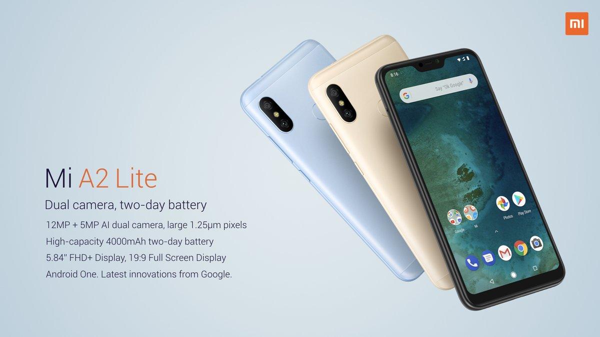 ما هي مواصفات Xiaomi Mi A2 Lite ؟