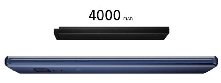يحمل Galaxy NOTE9 جالاكسي نوت 9 بطارية بسعة 4000 ميللي أمبير/ساعة