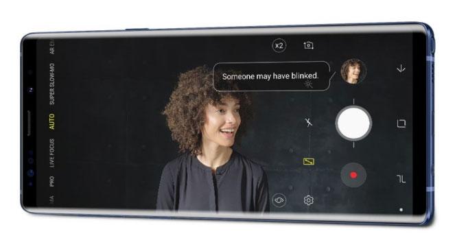 سامسونج أضافت العديد من التحسينات على كاميرا Galaxy Note9