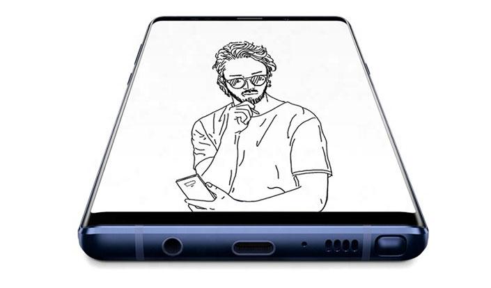 يحمل Galaxy Note9 جالكسي نوت 9 شاشة وبطارية أكبر مقارنة مع الإصدار السابق