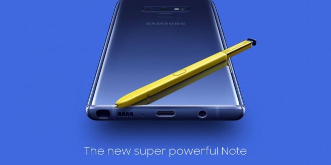Galaxy Note9 جالكسي نوت 9: المواصفات والمميزات والسعر