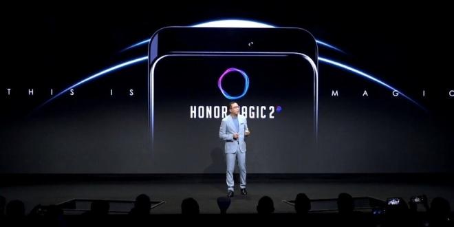 هونر تكشف عن Honor Magic 2 بتصميم بدون حواف تماما