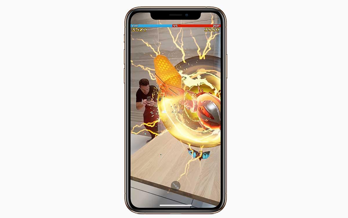 iPhone Xs Max مزود بمعالج آبل الجديد A12 Bionic