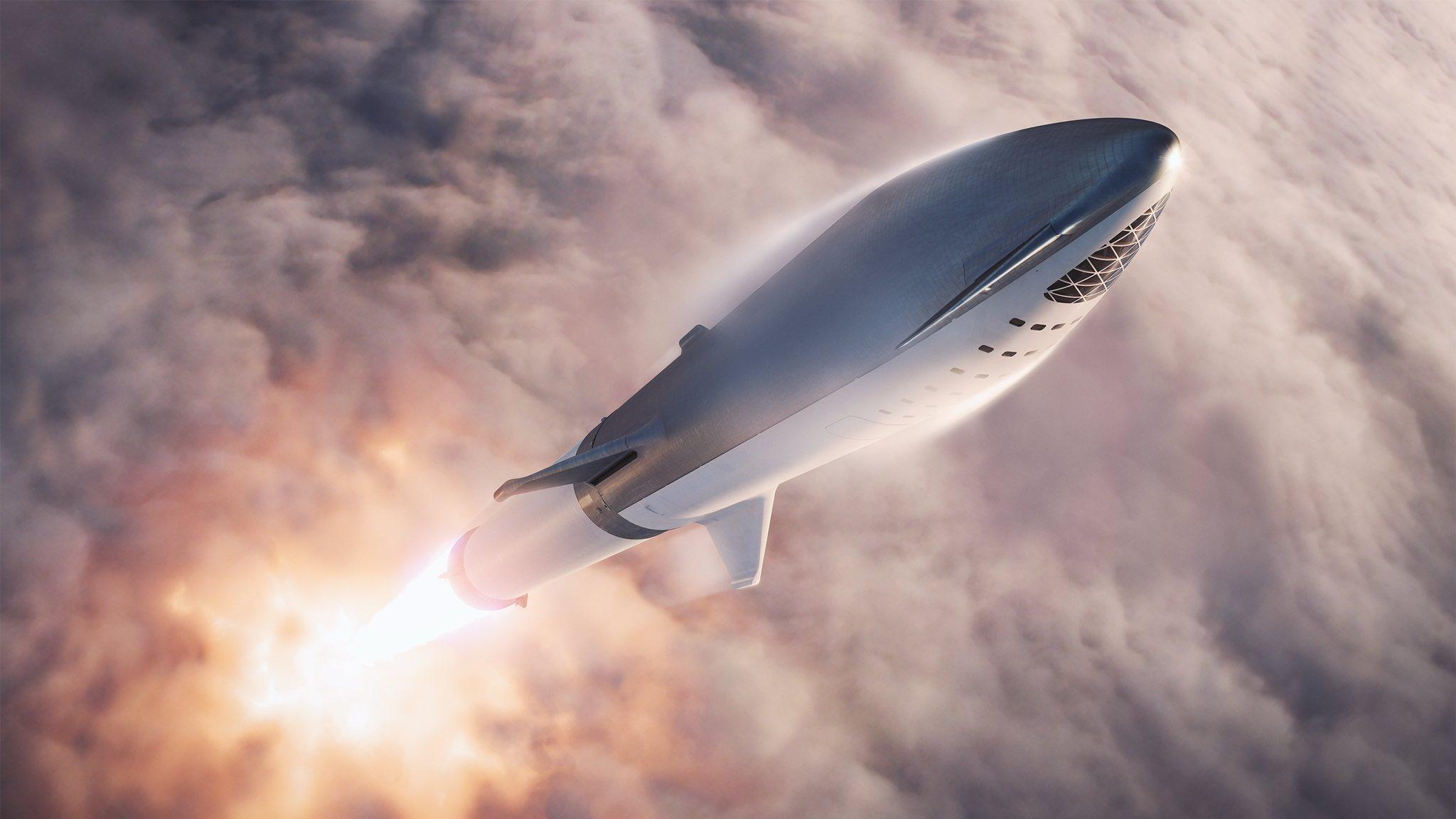 صواريخ فالكون BFR
